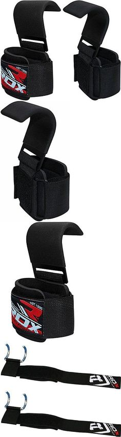 Gloves Straps and Hooks 179820: Authentic Rdx Pro Weighting Training Gym Hook Grips Straps Gloves Wrist Lift -> BUY IT NOW ONLY: $30.9 on eBay!