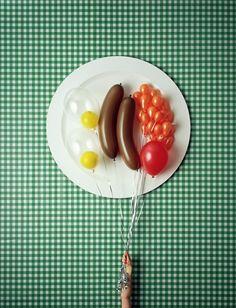 Balloon food