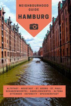 Poggenmühlenbrücke at Speicherstadt in Hamburg Germany NEW World Travel Poster