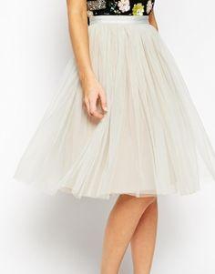 Enlarge Needle & Thread Tulle Midi Skirt