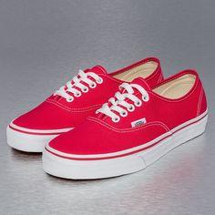 Vans sneaker rood