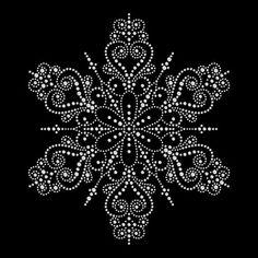 Dot Art Painting, Mandala Painting, Painting Patterns, Christmas Mandala, Christmas Art, Christmas Holidays, Mandala Draw, Mandala Rocks, Design Mandala