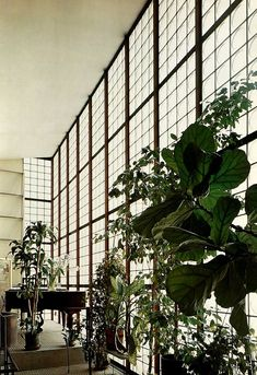 Maison de Verre, Paris, France 1932 / Pierre Chareau. Constructed in the early modern style