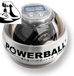 De Signature Pro is een exclusieve Powerball voorzien van alle features maar toch ook 'chique'.  De metalen kern is voorzien van ledlampjes die door de bewegingen van stroom wordt voorzien. De led's schijnen door 'smokey' behuizing heen vanwege de gripband erg prettig in de hand ligt.  Een mooie Powerball van hoge kwaliteit.