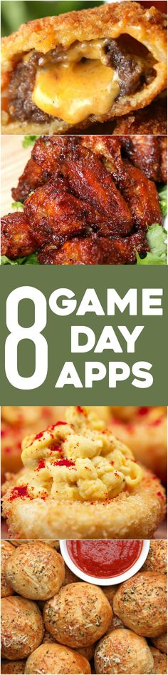 8 Game Day Appetizers