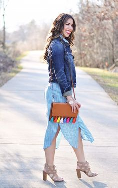 maxi dress season, anthropologie patterned maxi dress, the perfect jean jacket, spring outfit inspo, spring fashion, spring outfit ideas, the perfect maxi dress, rebecca minkoff tassel clutch, tassel purse, colorful tassel clutch, heres the skinny, heres-the-skinny, here's the skinny, heres the skinny, the skinny blog, the skinny by bailey schwartz, here's the skinny by bailey schwartz, charlotte nc fashion blog, charlotte nc fashion, charlotte fashion blogger, charlotte nc blogger