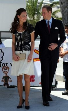 Kate Middleton et William