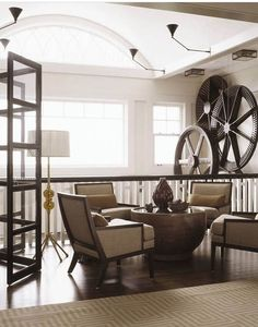 french industrial decor - Google Search