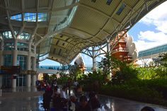 #Bali International #Airport scenic and tropical