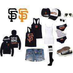It'sssss Baseball Season!  Bay love, baby!  Created by queenirene83 on Polyvore