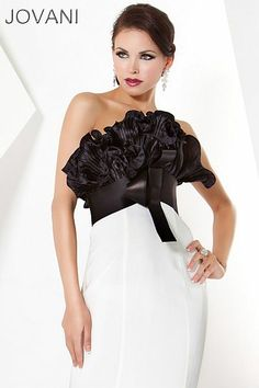 Jovani Origami Ruffle Evening Dress 71514 - French Novelty  $640