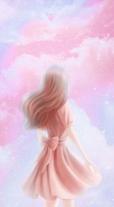 Trendy ideas for beautiful art drawings girls kawaii Cover Wattpad, Beautiful Girl Wallpaper, Lovely Girl Image, Girl Background, Background Ideas, Art Drawings Beautiful, Vintage Art Prints, Illustration Girl, Anime Art Girl