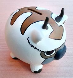 Avatar Appa Piggy Bank #avatar #anime #appa #merchandise