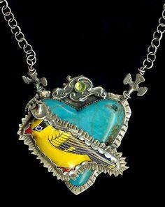 Love this necklace!!  Sweet Bird Designs