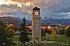 Autumn at Fort Lewis College. Photo by Kyle Niemtschk.