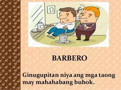 BARBERO Ginugupitan niya ang mga taong may mahahabang buhok. Basketball Party, Good Morning Messages, Tagalog, Btob, Family Guy, Party Ideas, Community, Reading, Projects