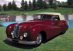 Pourtout Delahaye 135M Cabriolet 1948