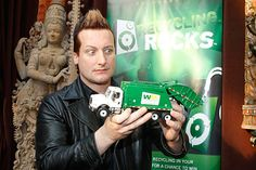 Musician Tre Cool of the music group Green Day attends the 52nd Annual GRAMMY Awards GRAMMY Gift Lounge Day 2 held at the at Staples Center on January 29, 2010 in Los Angeles, California.