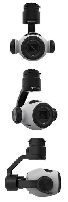 #ZenmuseZ3: новая камера для съемки с воздуха от #DJI #камерадлядронов