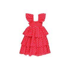 Seafolly Kids Peek A Bow Cinderella Dress Girl's Swimwear - Cherry  http://beso.ly/rd/4228292653?a=416213=1