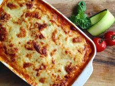 Lasagna with zucchini / Lazanja z bučkami / http://www.220stopinjposevno.com/220730-food-styling/lazanja-z-buckami