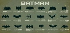 Batman Sign Evolution