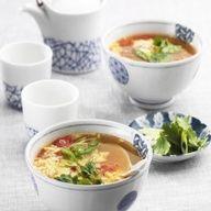 Chinese Eggflower Tomato Soup  #EggsEasyAs