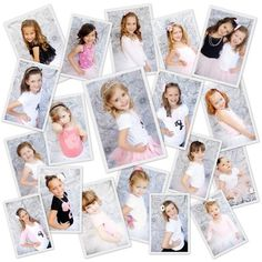 How cute to do this photo shoot and send them to the little girls.