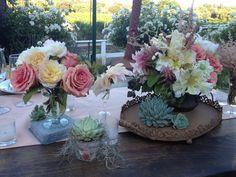 #wedding #table #flowers