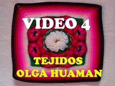 "colcha a crochet: video 4, muestra ""pensamiento"" - YouTube"