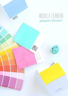 Micaela Ferrero   Tarjeta Pantone para creativos y diseñadores   http://micaelaferrero.com