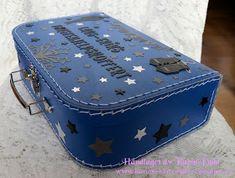 Karins-kortemakeri: Førstehjelpskoffert til mann på 40 Suitcase, Decorative Boxes, Student, Suitcases, Decorative Storage Boxes