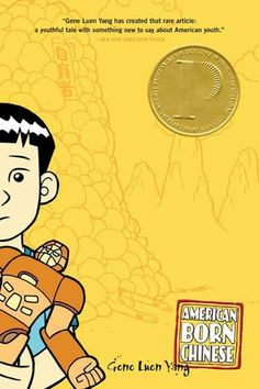 American Born Chinese by Gene Luen Yang  This full-color, glossy graphic novel is a striking take on Chinese-American identity, weaving together three perspectives: Chinese folk character Monkey King; Jin Wang, a middle school student who wants desperately to assimilate; and Danny, an All-American student shamed by his Chinese cousin, the unfortunately-named Chin-Kee. Its deliberate stereotypes are uncomfortable, but they raise interesting questions about race in America.