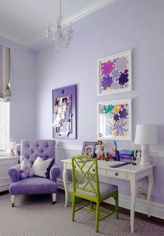 Perfekt So Schön Wirkt Lila Als Wandfarbe