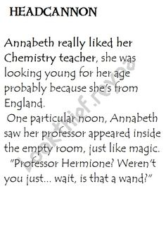 Heroes of Olympus Headcannon. Annabeth and Hermione, #percyacksonharrypotter #Crossover