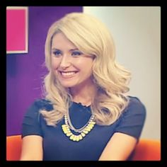 "@mezijewellery's photo: ""Magdalena Roze from #TheBreakfastShow looking stunning in Tulua #somezi http://www.mezi.com.au/shop/ss12/necklaces/tulua.html"""