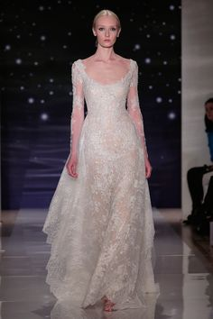 The Best in Spring Bridal Gowns  - ELLE.com - Reem Acra 2015 (=)