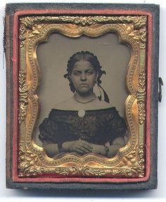 Young Woman Ambrotype from belladora on Ruby Lane