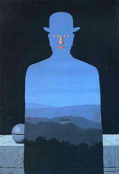 René Magritte – Il mondo è così ..