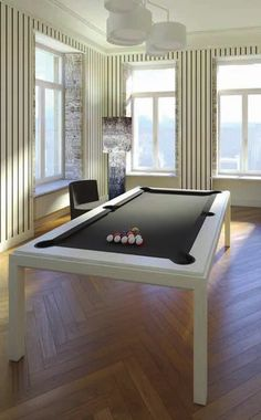FusionTable - DK Billiard Service, Pool Tables For Sale, Billiard Supplies, Orange, CA Pool Table Dining Table, Pool Table Room, Pool Table Parts, Pool Tables For Sale, Fusion Design, Space Frame, Black Cushions, Table Accessories, Room Dimensions