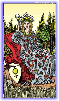 The lesson of the Empress tarot card meditation is love, fecundity, and growth, remember that as you look for the lesson you take with you.