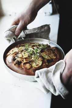 Potato and thyme focaccia