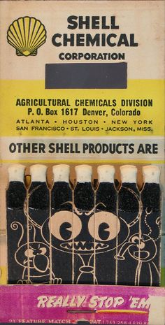 Shell Chemical feature matches.