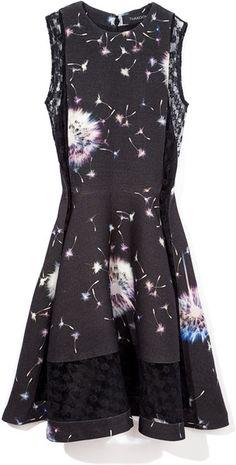 Thakoon Dandelion Sleeveless Dress in Floral (black multi) - Lyst