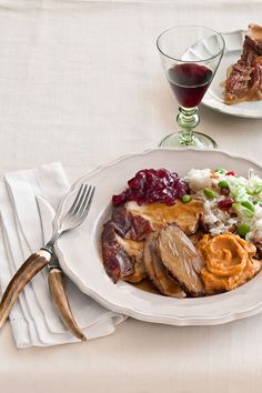 This Thanksgiving menu is Chinese inspired. Make Roast Turkey with Hoisin Gravy, Sticky Rice Dressing, Cranberry Sauce with Dried Orange Peel, and Pecan Pie with Salted Egg Yolk.