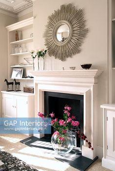 Αποτέλεσμα εικόνας για mirror over fireplace