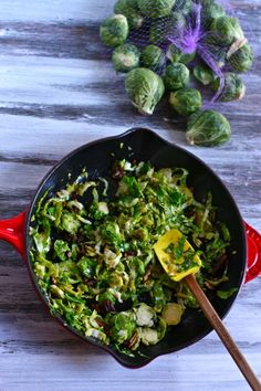 if you think you don't like brussels sprouts, try these!