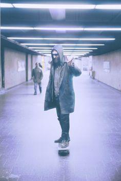 stranger on the subway.