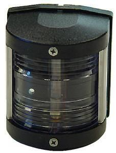 Aqua Signal 25500 Series 25 Classic 12v Navigation Light For Power Or Sail Boats Up To 39 Stern Side Mount Black Navigation Lights Boat Led Navigation