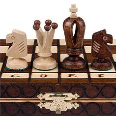 Amazon.com: Royal 30 European Wood International Chess Set - 11-3/4'' x 11-3/4'': Toys & Games